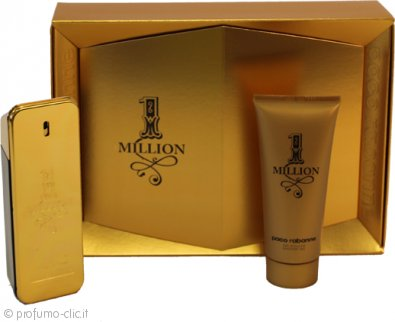 Paco Rabanne 1 Million Confezione Regalo 100ml EDT + 100ml Gel Doccia