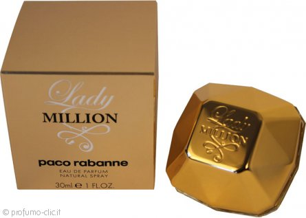 Paco Rabanne Lady Million Eau de Parfum 30ml Spray