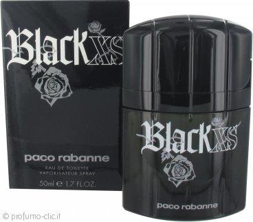 Paco Rabanne Black XS Eau de Toilette 50ml Spray