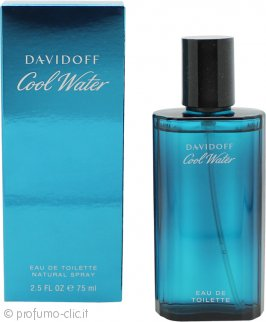 Davidoff Cool Water Eau De Toilette 75ml Spray