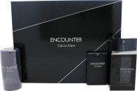 Calvin Klein Encounter Confezione Regalo 100ml EDT + 20ml EDT + 75g Deodorante Stick
