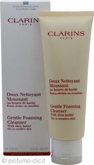 Clarins Skincare Gentle Foaming Cleanser with Shea Butter (Pelle Secca/Sensibile) 125ml