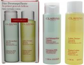 Clarins Cleansing and Toning Duo Pack - Pelle Secca/Normale 2 x 200ml