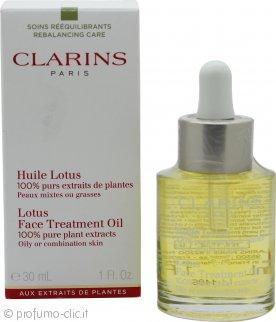 Clarins Lotus Olio Trattamento Viso Pelle Mista/Grassa 30ml