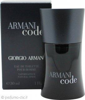 Giorgio Armani Code Eau De Toilette 30ml Spray
