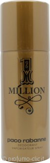 Paco Rabanne 1 Million Deodorante Spray 150ml