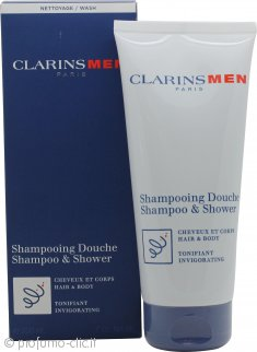 Clarins Men Total Shampoo 200ml Capelli e Corpo
