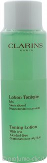 Clarins Cleansers and Toners Toning Lotion with Iris - Pelle Mista/Grassa 200ml