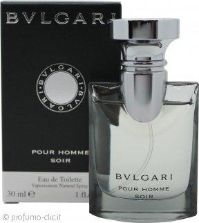 Bvlgari Pour Homme Soir Eau de Toilette 30ml Spray