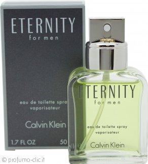 Calvin Klein Eternity Eau de Toilette 50ml Spray