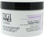 Tigi Pro Luminous Blonde Treatment Maschera 200g