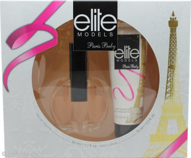 Elite Paris Baby Gift Set 50ml EDT + 75ml Lozione Corpo