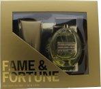 Fame & Fortune Fame & Fortune for Women Confezione Regalo 100ml EDT + 100ml Lozione per il Corpo