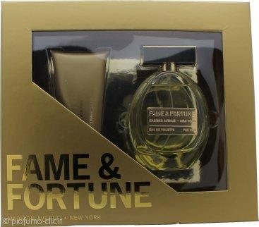 Fame & Fortune for Women Confezione Regalo 100ml EDT + 100ml Lozione per il Corpo