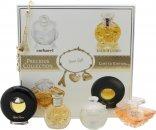 Lancome Precious Collection Miniatures Confezione Regalo 7ml Cacharel Noa + 7.5ml Lancome Tresor + 4ml Ralph Lauren Safari + 4.8ml Paloma Picasso + Braccialetto
