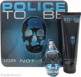 Police To Be Confezione Regalo 75ml EDT + 100ml All Over Body Shampoo