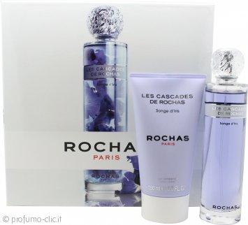 Rochas Les Cascades De Rochas Songe d'Iris Confezione Regalo 100ml EDT + 150ml Lozione Corpo