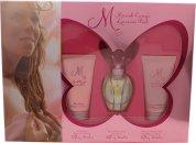 Mariah Carey Luscious Pink Confezione Regalo 30ml EDT + 50ml Lozione per il Corpo + 50ml Gel Doccia