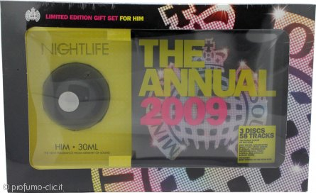 Ministry Of Sound Nightlife For Him Confezione Regalo 30ml EDT + 2 x Cd + 1 DVD di The 2009 Annual