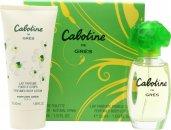 Gres Parfums Cabotine Confezione Regalo 100ml EDT + 200ml Lozione per il Corpo + 200ml Gel Doccia