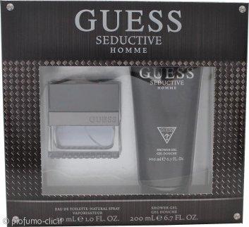 Guess Seductive Homme Confezione Regalo 30ml EDT + 200ml Gel Doccia
