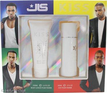 JLS Kiss Confezione Regalo 60ml EDT + 100ml Lozione per il Corpo