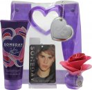 Justin Bieber Someday Confezione Regalo 30ml EDP + 200ml Lozione Corpo + Sacchetto Porta Ricordi + Deodorante da Camera