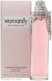 Thierry Mugler Womanity Eau pour Elles Eau de Toilette 80ml Spray