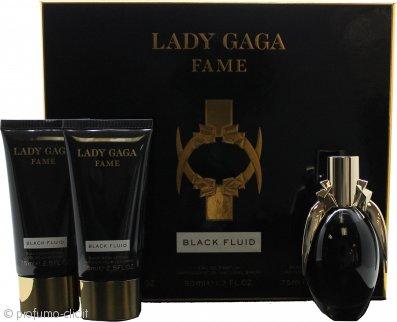 Lady Gaga Fame Confezione Regalo 50ml EDP + 75ml Gel Doccia + 75ml Lozione per il Corpo