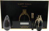 Lady Gaga Fame Confezione Regalo 50ml EDP + 10ml Roller Ball + 142g Sapone