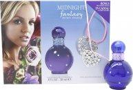 Britney Spears Midnight Fantasy Confezione Regalo 30ml EDP + Collana a Cuore