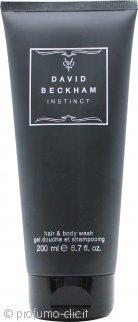 David Beckham Instinct Bagnoschiuma & Shampoo 200ml