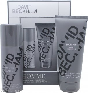 David Beckham David Beckham Homme Confezione Regalo 200ml Gel Doccia + 150ml Deodorante Spray