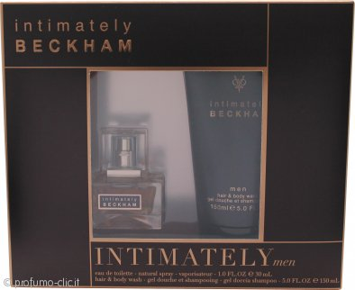 David & Victoria Beckham Intimately Confezione Regalo 30ml EDT + 150ml Hair & Body Wash
