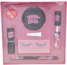 Betty Boop Betty Boop Confezione Regalo Ciglia Finte + Colla + Eye Liner + Temperamatite + Piccolo Specchio + Rossetto + Lucidalabbra