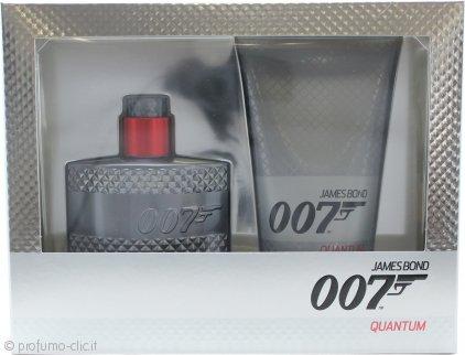 James Bond 007 Quantum Confezione Regalo 50ml EDT + 150ml Gel Doccia