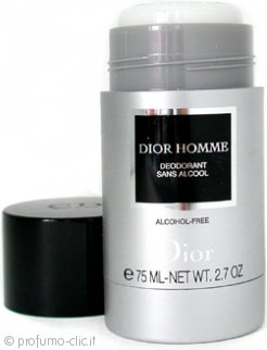 Christian Dior Dior Homme Deodorante Stick Alcohol Free 75ml