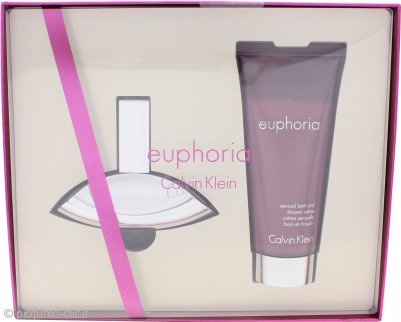 Calvin Klein Euphoria Confezione Regalo 30ml EDP + 100ml Crema da Doccia