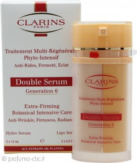 Clarins Double Serum Generation 6 Extra-firming Botanical Intensive Care Siero 2 x 15ml