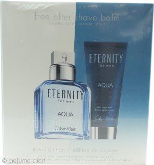 Calvin Klein Eternity Aqua Confezione Regalo 30ml EDP + 100ml Lozione Corpo + 15ml EDP