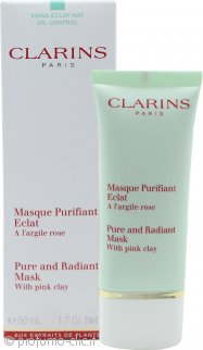 Clarins Pure and Radiant Mask with Pink Clay 50ml