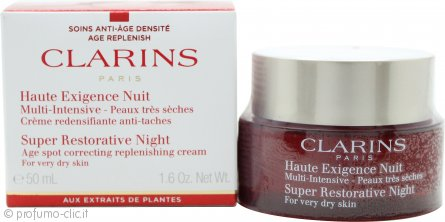 Clarins Super Restorative Night Wear Crema 50ml - All Skin Types