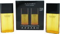 Azzaro Pour Homme Confezione Regalo 100ml EDT Splash + 150ml Hair & Body Shampoo
