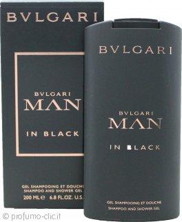 Bvlgari Man In Black Shampoo e Gel Doccia 200ml