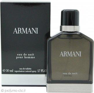Giorgio Armani Eau de Nuit Pour Homme Eau de Toilette 50ml Spray