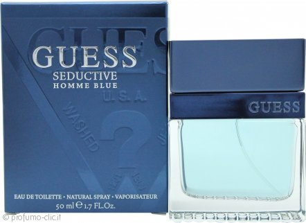 Guess Guess Seductive Homme Blue Eau de Toilette 50ml Spray