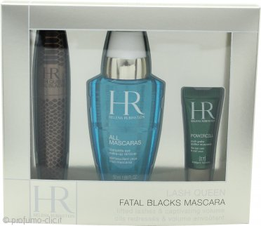 Helena Rubinstein Lash Queen Fatal Confezione Regalo 7.2ml Mascara + 50ml All Mascaras! Struccante Occhi + 3ml Prodigy Eye Care