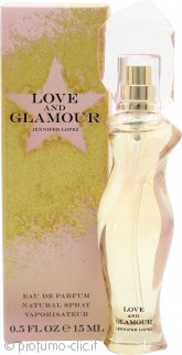 Jennifer Lopez Love and Glamour Eau de Parfum 15ml Spray