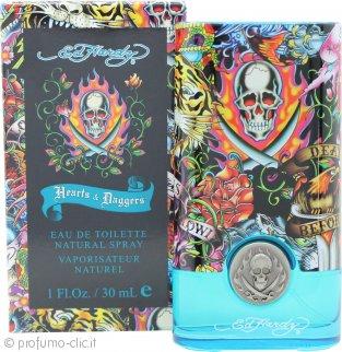 Ed Hardy Hearts & Daggers Eau de Toilette 30ml Spray