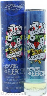 Ed Hardy Love & Luck Eau De Toilette 30ml Spray